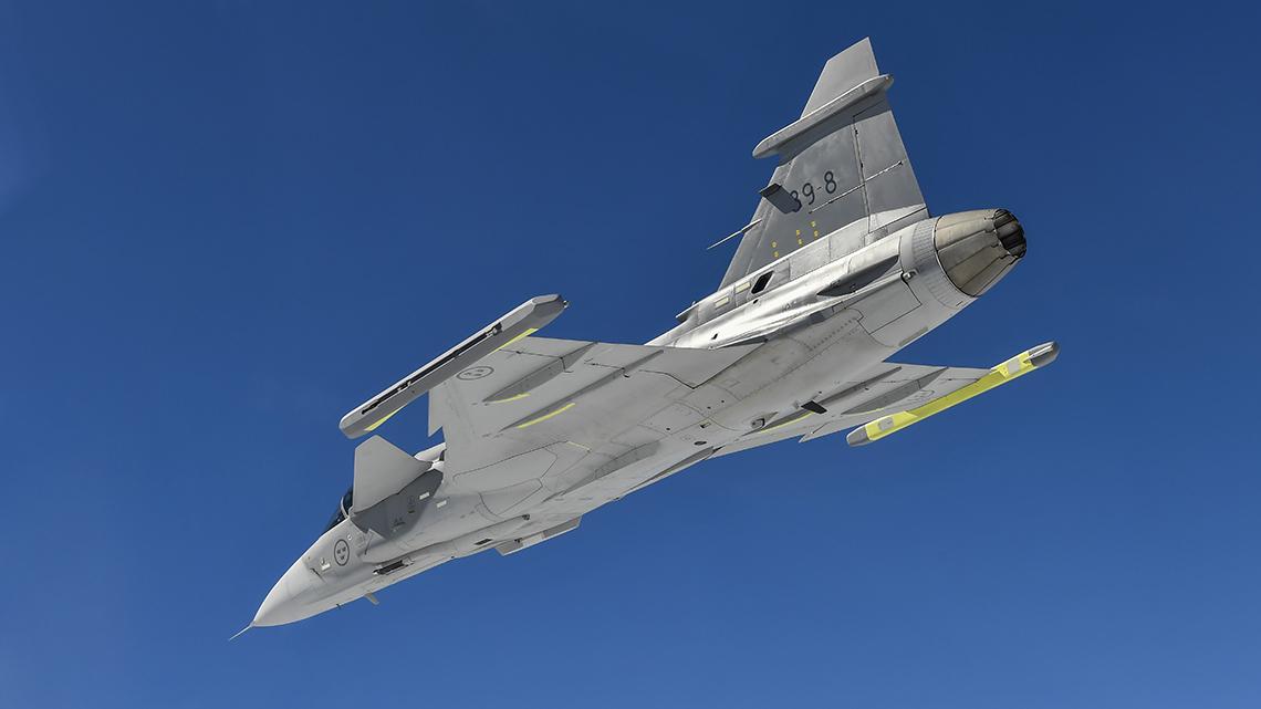 Saab Gripen E – der smarte Fighter | Cockpit